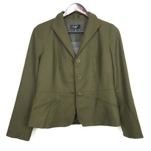 Talbots The Grace Fit Marzotto Wool Blazer size 8P